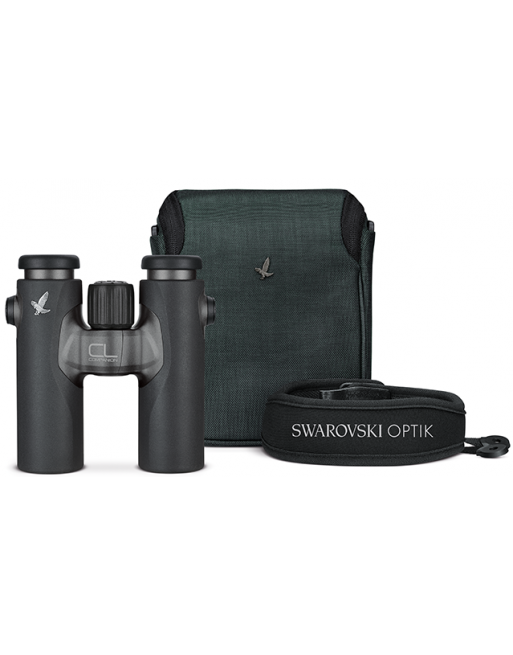 Swarovski CL Companion 8x30 Antraciet + Wild Nature Accessoire Pakket