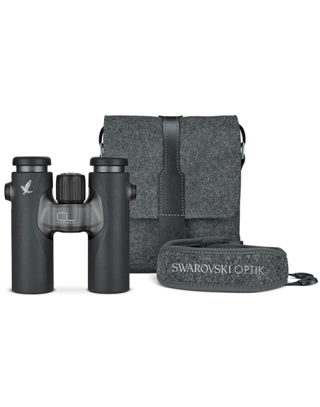 Swarovski CL Companion 8x30 Antraciet + Northern Lights Accessoire Pakket