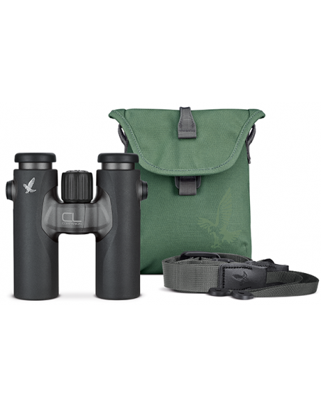 Swarovski CL Companion 10x30 Antraciet + Urban Jungle Accessoire Pakket