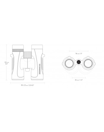 ENDURANCE ED 8×32 BINOCULAR - GREEN