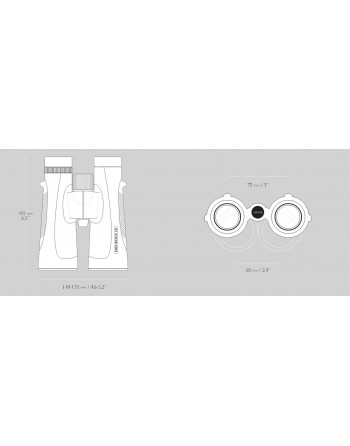 HAWKE ENDURANCE 10×50 BINOCULAR - GREEN
